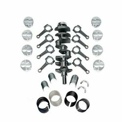 New Forged Scat Rotating Assembly I-beam Rods Fits Ford 302 Main 347 1-94165