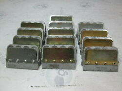 389823 0389823 Omc Evinrude Johnson Reed Valve Leaf Plate Assembly Lot Of 13