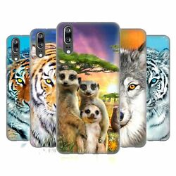 OFFICIAL AIMEE STEWART ANIMALS SOFT GEL CASE FOR HUAWEI PHONES