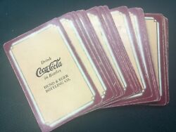Rare 1938 Coca Cola, Hund And Eger Bottling Co., Pinochle Playing Cards
