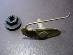 1 Pc Nors Front Rear Door Tail Gate Moulding Clip And Nut Fits 1972-1975 Chevy