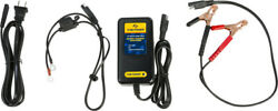 Fire Power 12 Volt 2 Amp Lithium Ion Lead Acid Agm Gel Battery Charger Tender