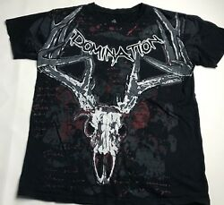 Cabela's Legendary Whitetails Graphic Tee T-shirt Mens Size M Domination Deer