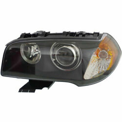 New Driver Side Hid Head Lamp Lens And Housing Fits 2004-2006 Bmw X3 Bm2502145
