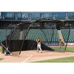 BSN Sports BIG BUBBA Elite Batting Cage Dk Green