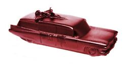 Motley Crue #x27;Car#x27; Metallic Red Candle NEW amp; OFFICIAL
