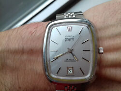 Omega Electronic P.a.n 1250 Vintage Collection New Old Stock Watch Rare