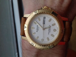Radiant Rally Diver Vintage Collection Y143-a010 Nos Japan Horl Montre Luxe Rare