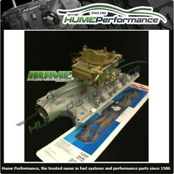Ford Windsor 302-289 Package Weiand Manifold And Holley Carburettor E Choke