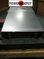 Dell PowerVault MD3260i iSCSI SAN. Dual 4GB Controllers Dual Power Bezel