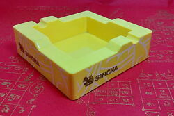 Ashtrays Singha Beer Cigarette Rare Collectibles Yellow Free Shipping