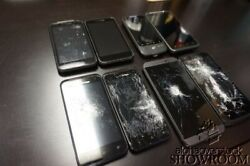 Lot Of 8 Used Untested Of Htc Smart Phones - Verizon For Parts Or Repairs Only