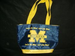 University of Michigan Wolverines Large Insulated Beach Bag Cooler Tote $14.99