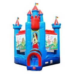 Brave Knight Inflatable Bounce House Commercial 12'x12'x18' Blow Up Jump Castle