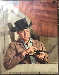 Collectors Puzzle Of Western Actor Dale Robertson