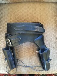 Gun Holster worn by Actor Dale Robertson in various films and TV Series