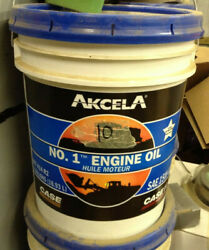 407414r2 - A New 5 Gallon Of 15w40 Engine Oil For Caseih And Ih Tractors.