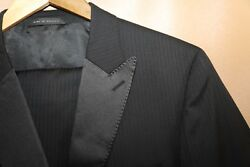 204 Hugo Boss The Actor/step Two Button Wool And Silk Tuxedo Size 40 R