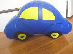 Vintage Store Display- Kummerly And Frey Inflatable Car Hallwag Swiss Map Promo