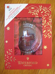 New Waterford American Red Cross Ornament Christmas Tree Doctor Nurse Gift 75