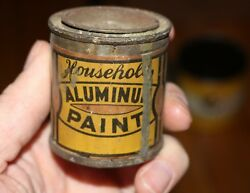 Vintage F.w. Woolworth Co. Paper Label House Paint Tin Can Advertising
