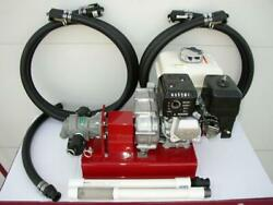 New Gas Driven Bulk/waste Oil Pump,24 Gpm,cold Oil,heaters,burner,free Shipping