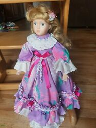 Rare And Beautiful Antique Old Vintage French Fashion Doll 17 Inches
