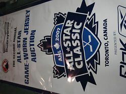 2007 AHL All Star Classic Display Poster AUTOGRAPHED By All 41 ALL-STARS