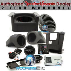 Pmx-3 Upgrade Rockford Fosgate Rngr-stage3 400w Stereo Speakers Subwoofer Kit