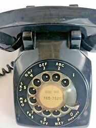 Bell Systems Rotary Phone Dial Telephone Desk Phone Prop Mid Century