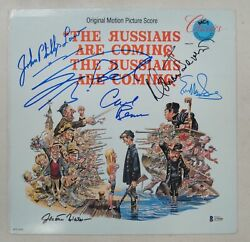 The Russians Are Coming Cast Hand Signed Laserdisc Carl Reiner Eve Saint Beckett