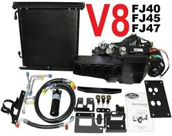 60 to 84 Toyota Land cruiser FJ40 45 with V8 AC Heat Vintage Air Conditioning