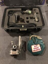 Mcelroy Model 1lc Fusion Welder Set Facer Heater Assemble Machine Used W/ Case