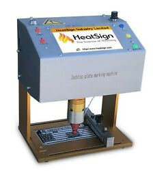High Speed Dot Peen Metal Tag Marking Machine, Compact And Easy To Use