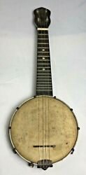 Vintage 1920andrsquos-1930andrsquos The Gibson Banjo Ukulele