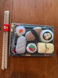 Signed Lucy Sparrow Mart Sushi 6-pack With Chopsticks Super Rare