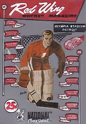Early 2000and039s National Coney Island Detroit Red Wings Nhl Hockey Wall Plaque