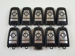 LOT OF 10 FORD FUSION 17-19 REMOTE SMART KEY LESS ENTRY 4-BUTTON USA ALARM OEM