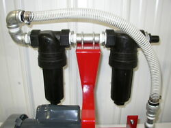 New Dual Strainer/cleanable Filter System, Hydraulic Oil,diesel, Antifreeze,usa