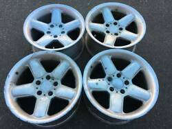 Rare 17x8.5 Ac Schnitzer Type 2 Rep Wheels Made In Japan In Fair Used Condition