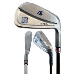 2018 Itobori Grind Cavity White Chrome Iron Set NEW