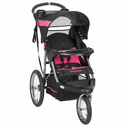 New Baby Trend Expedition Jogger Stroller Bubble Gum Free Zoom Delivery