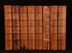 1817 8v Lives Of British Admirals Containing An Accurate Naval History Campbell