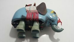 Vntg. Monkey On Elephant Me 776 Tin Toy China Battery Operated 60's For Parts