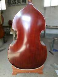 hand made double bassspruce top  Maple back  ribs and neck 34