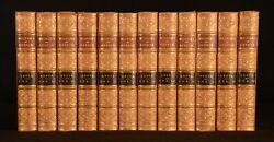 1884 12vol A History Of Greece George Grote Folding Maps Leather Scarce
