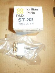 Pandd St33 On Off Toggle Switch 30 Amps Three 1/4 Male Blade Terminals Hot Rod