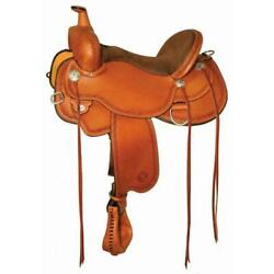 Circle Y Alpine Flex2 Tree Western Trail Saddle Close Contact Skirt