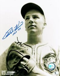 Ralph Kiner Hand Signed Autographed 8x10 Photo Close Up Hof And03975 Ga Gv