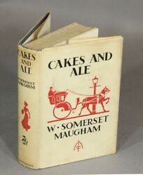 W Somerset Maugham / Cakes And Ale Or The Skeleton In The Cupboard 1st Ed 1930